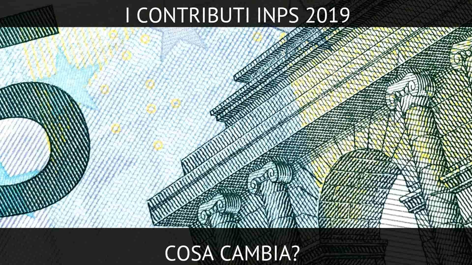 contributi inps 2019