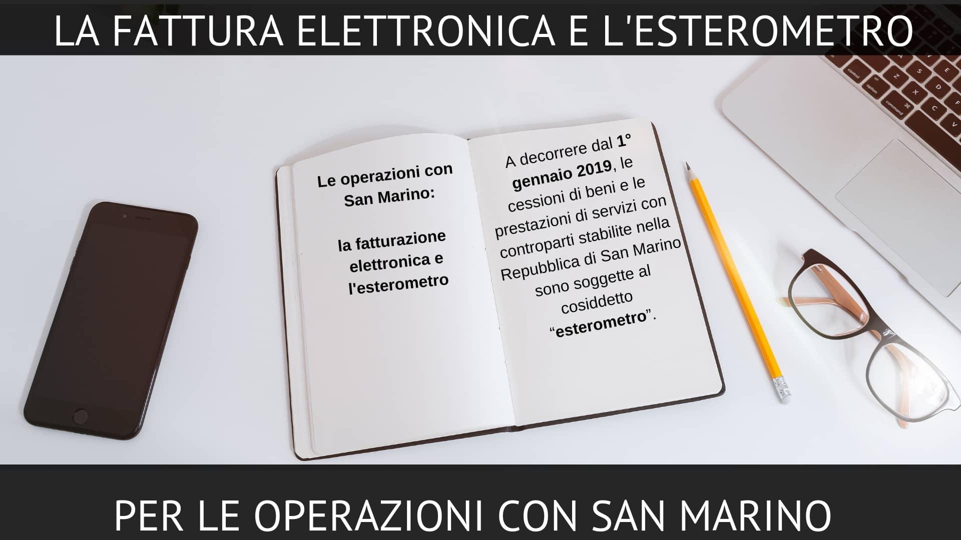 esterometro San Marino